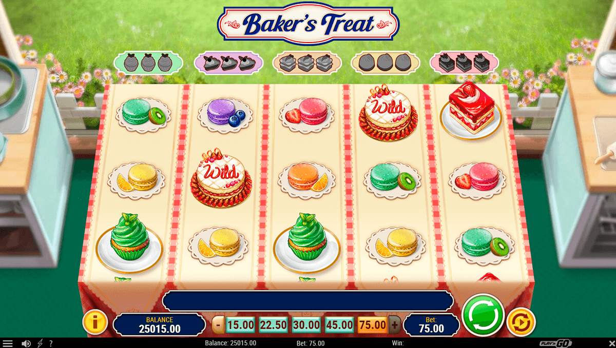 bakers treat playn go jogo casino online