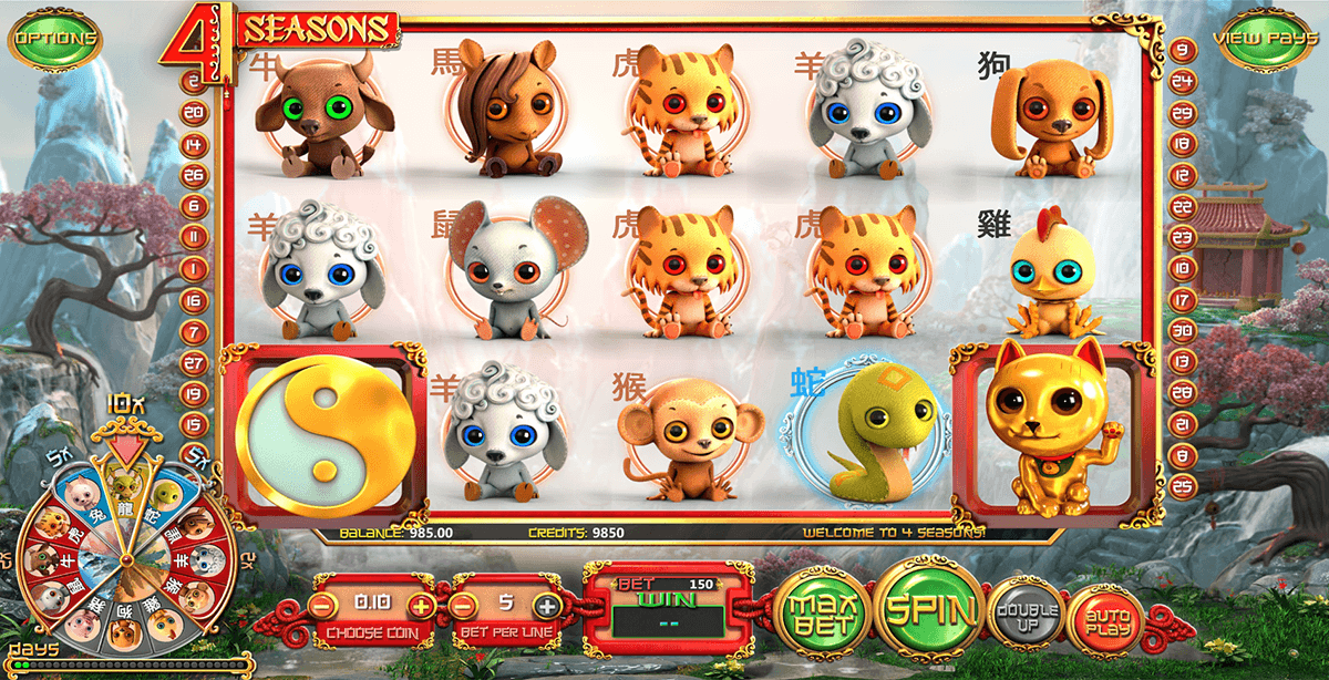4 seasons betsoft jogo casino online