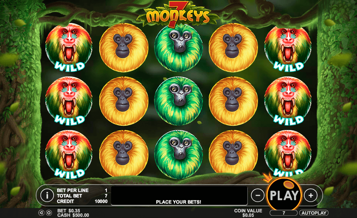 7 monkeys pragmatic jogo casino online