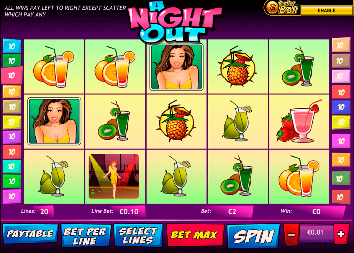 a night out playtech jogo casino online