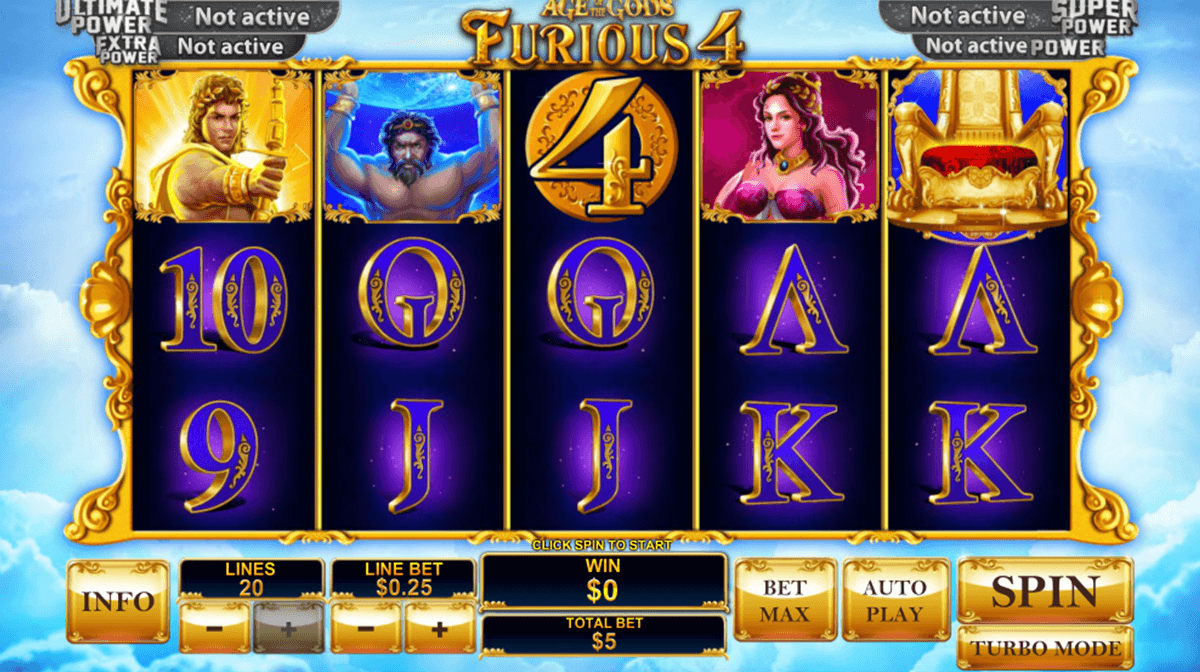 age of the gods furious 4 playtech jogo casino online