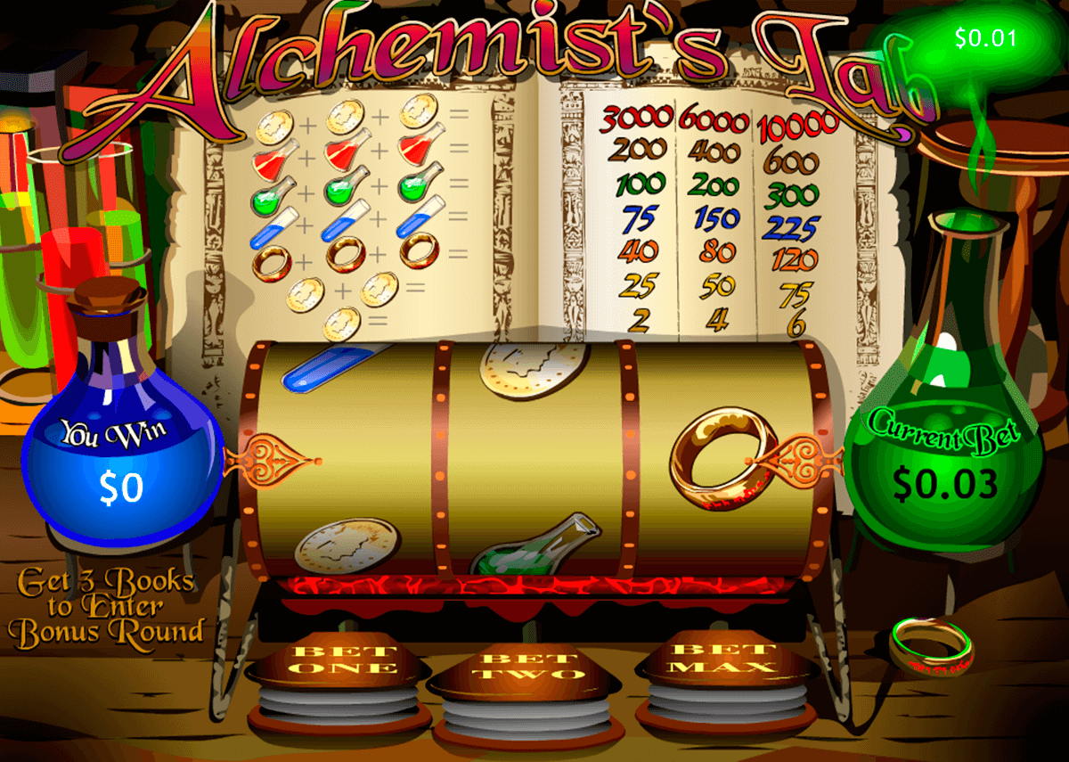 alchemists lab playtech jogo casino online
