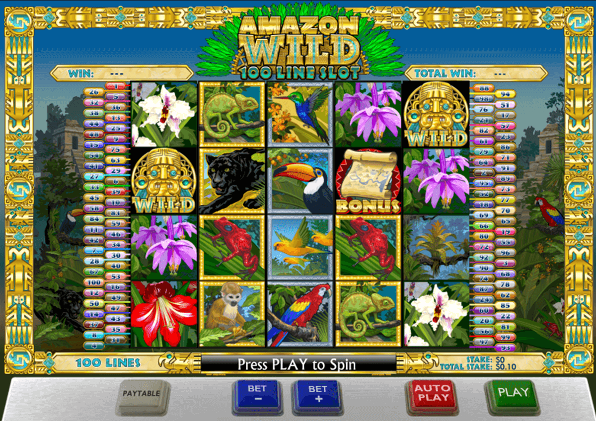 amazon wild playtech jogo casino online
