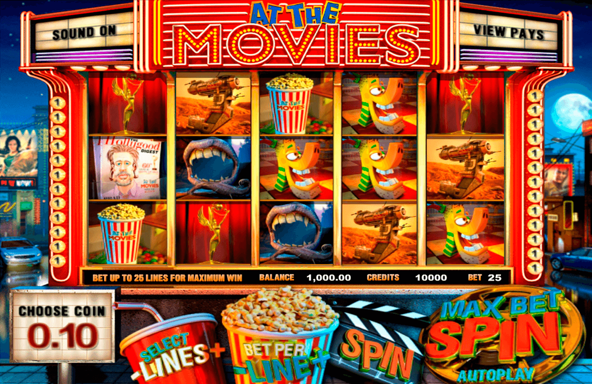at the movies betsoft jogo casino online