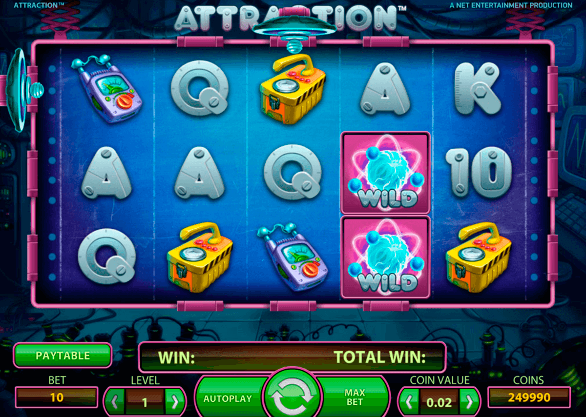 attraction netent jogo casino online