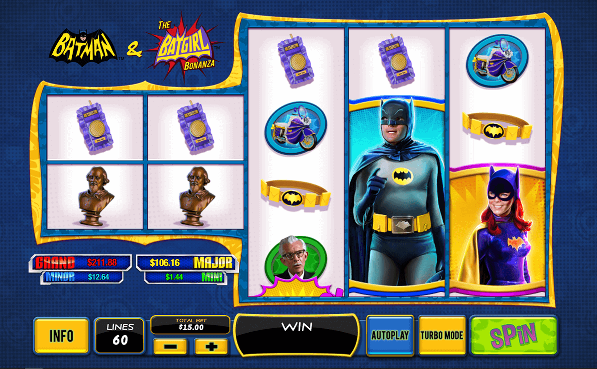 batman the batgirl bonanza playtech jogo casino online