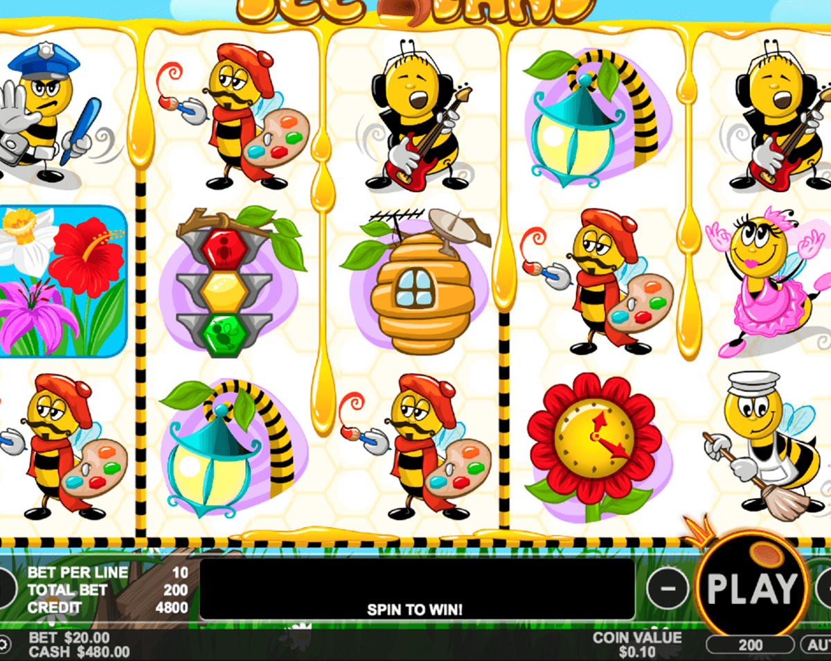 bee land pragmatic jogo casino online