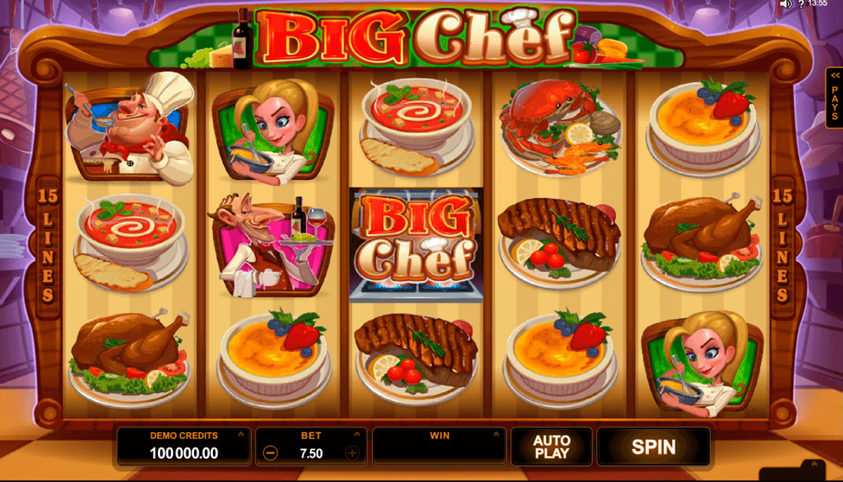 big chef microgaming jogo casino online
