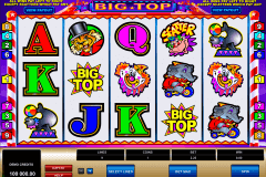 big top microgaming jogo casino online