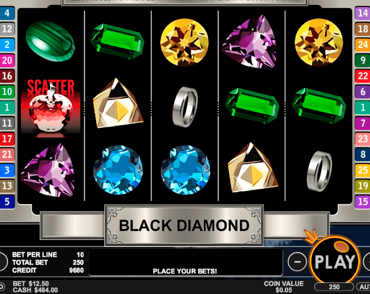 black diamond pragmatic jogo casino online