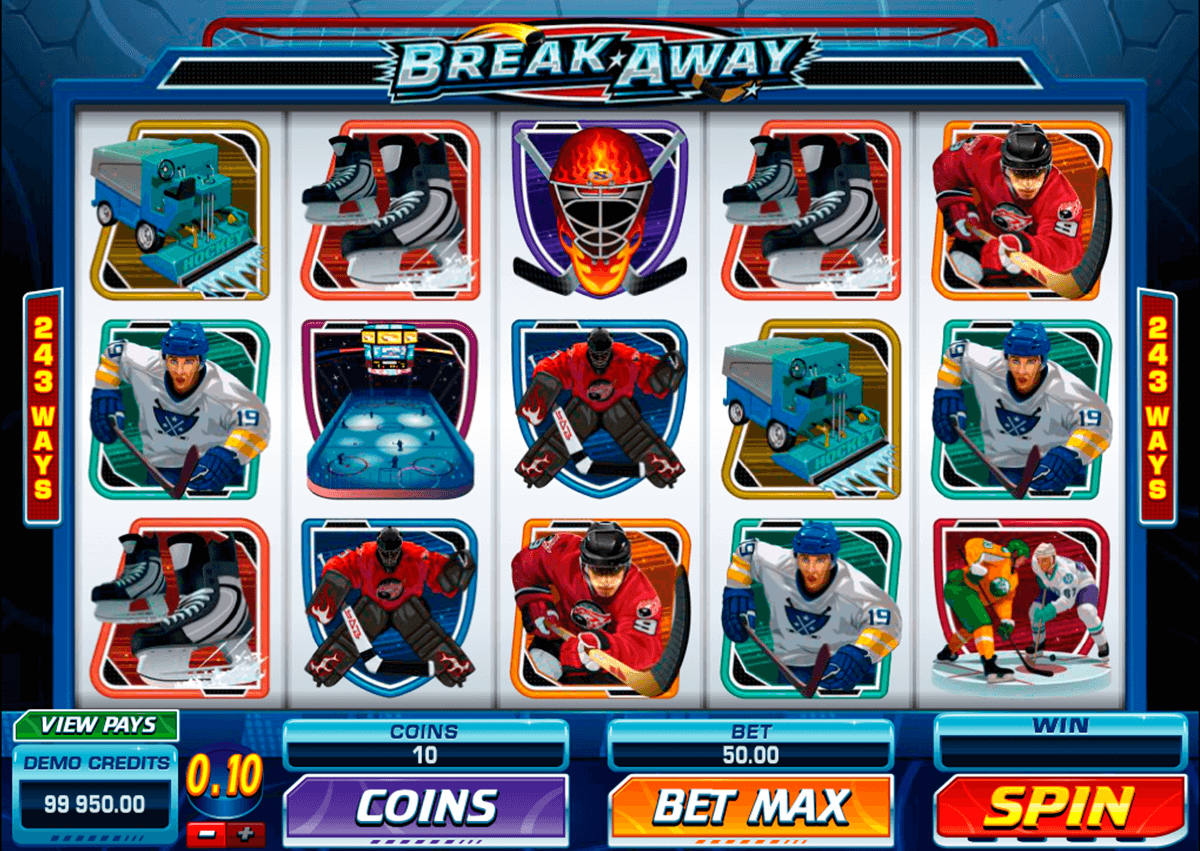break away microgaming jogo casino online