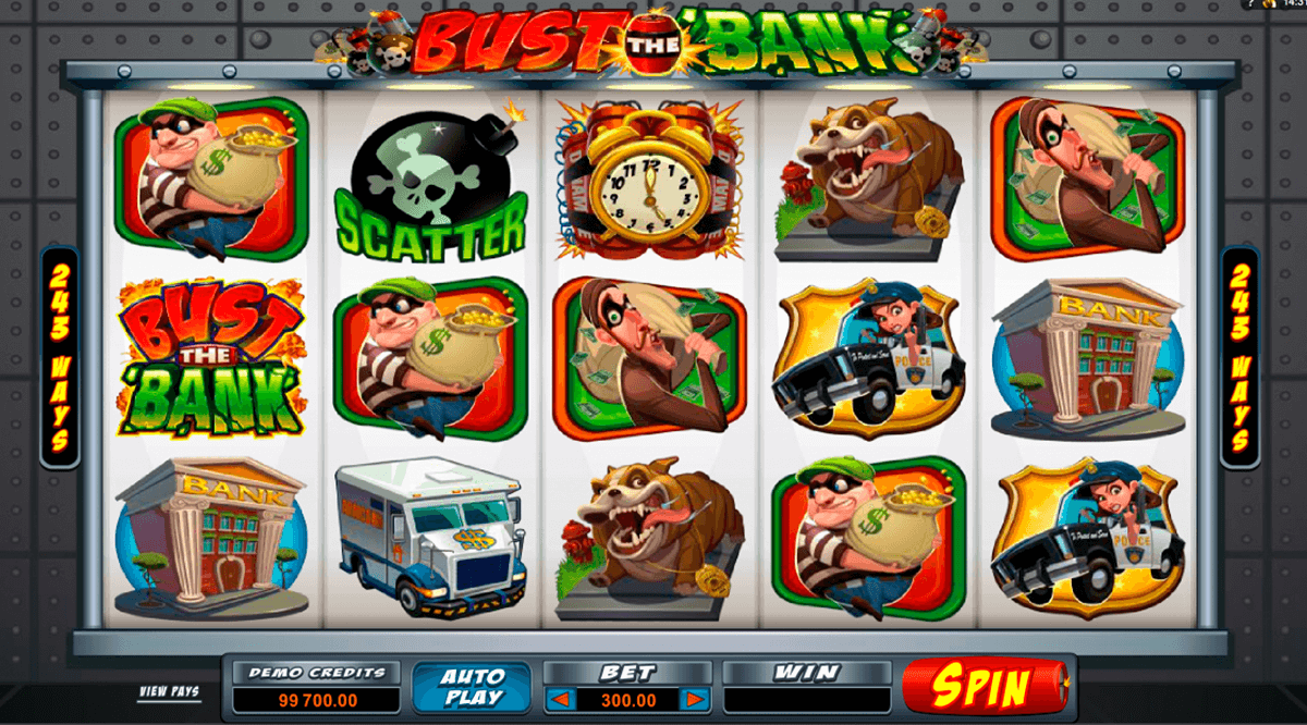 bust the bank microgaming jogo casino online