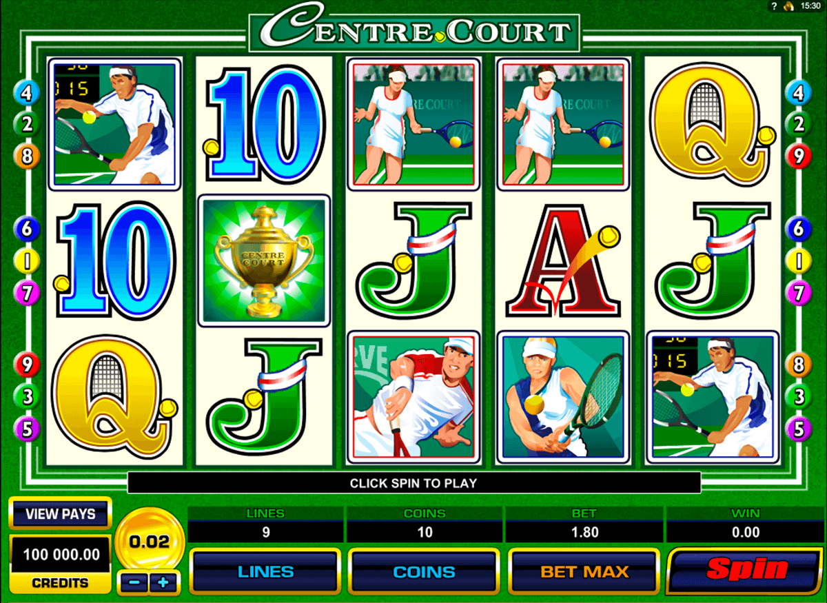 centre court microgaming jogo casino online