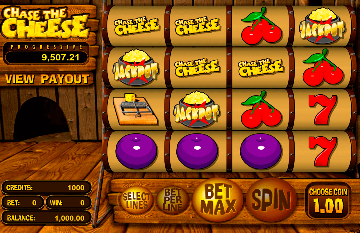 chase the cheese betsoft jogo casino online