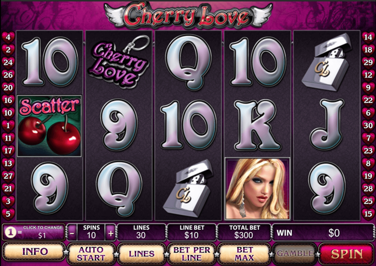 cherry love playtech jogo casino online