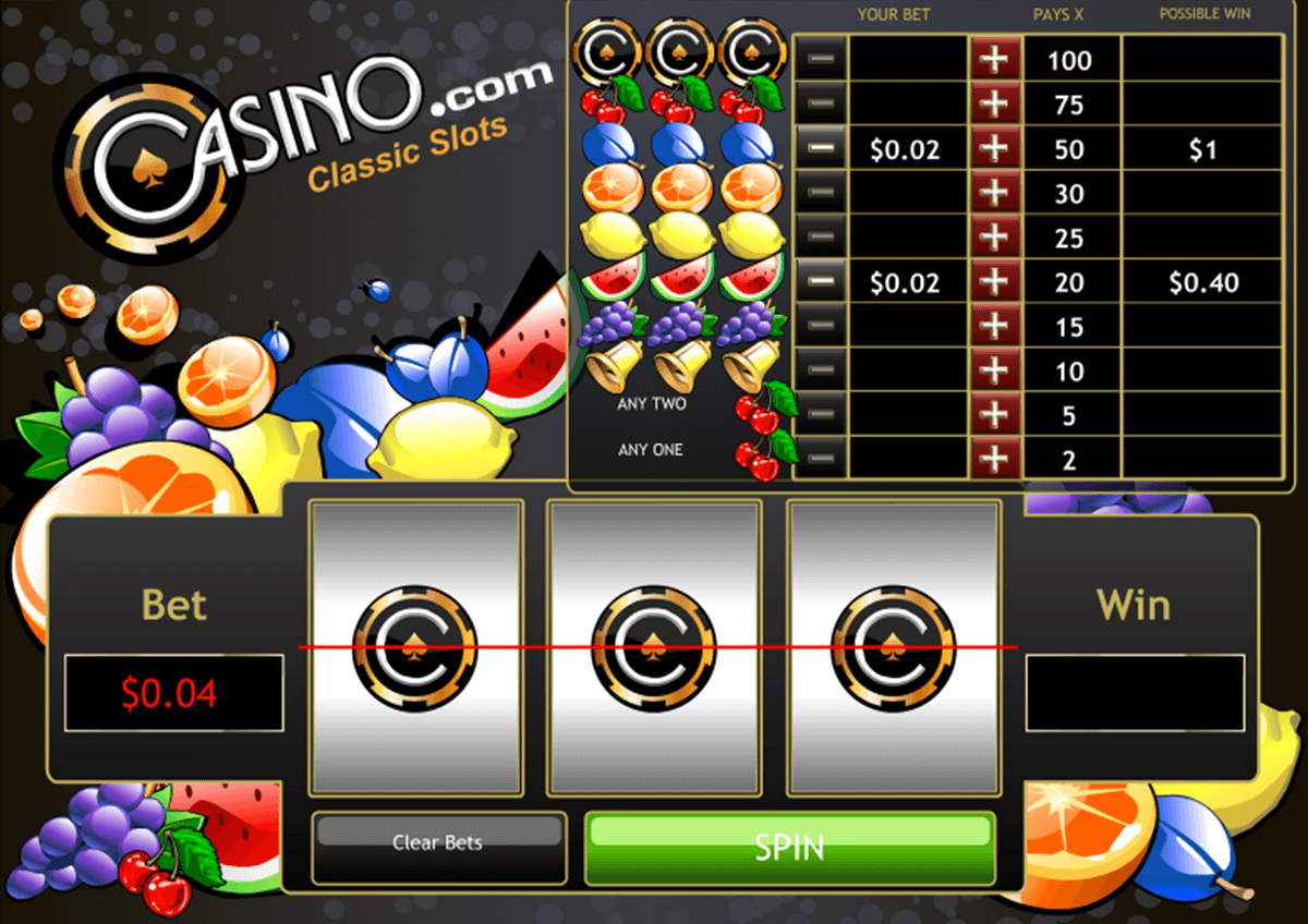 classic slots reels playtech jogo casino online