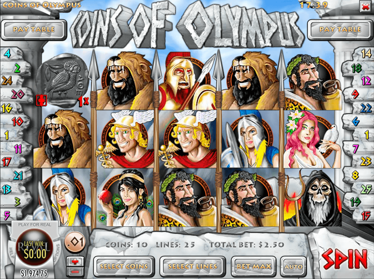coins of olympus rival jogo casino online