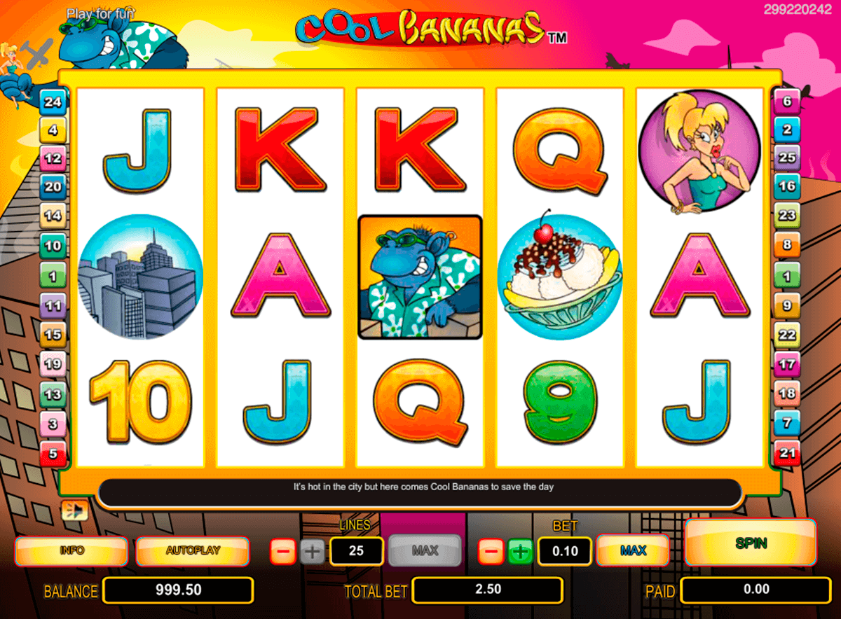 cool bananas nextgen gaming jogo casino online