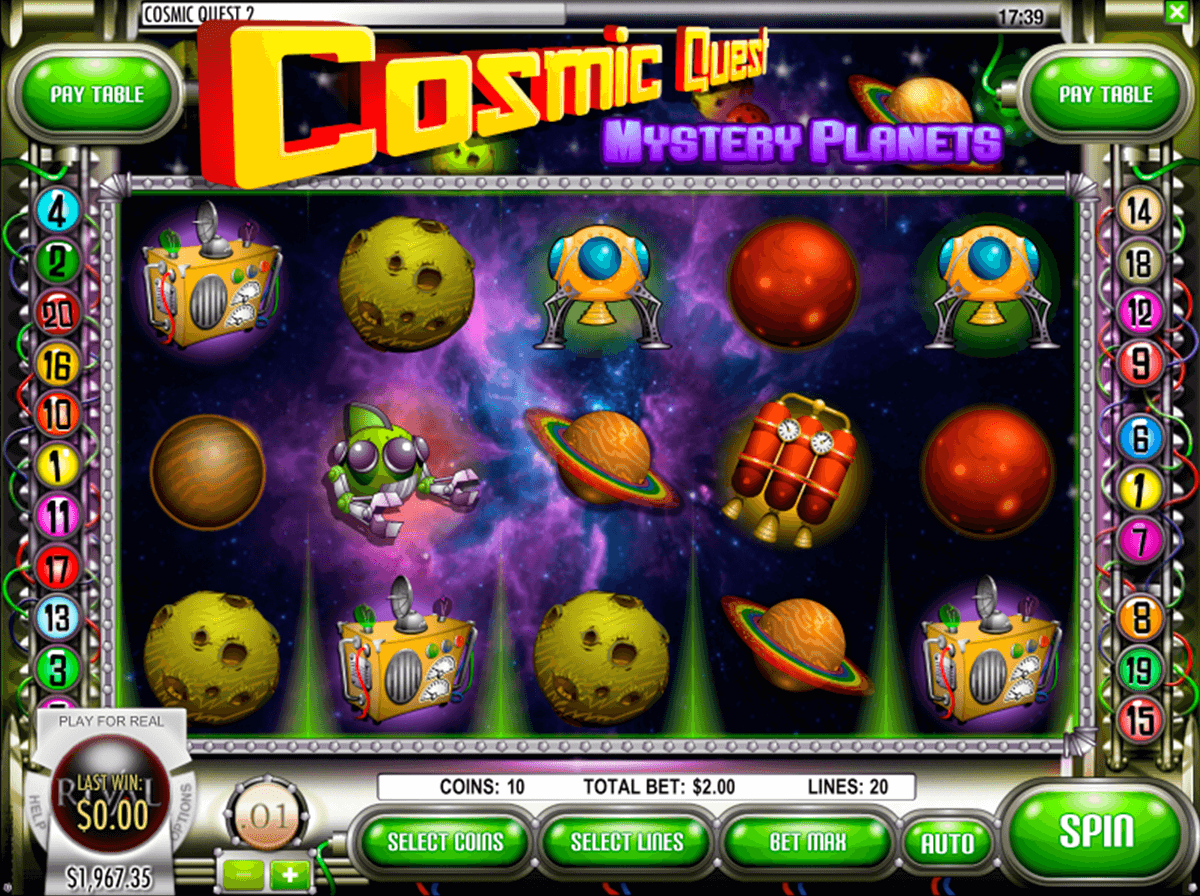 cosmic quest 2 mystery planets rival jogo casino online