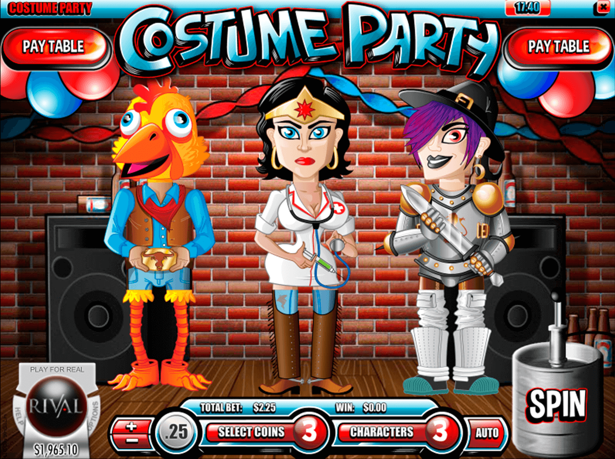 costume party rival jogo casino online