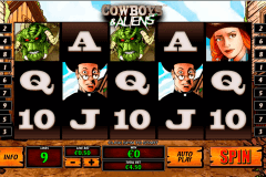 cowboys and aliens playtech jogo casino online