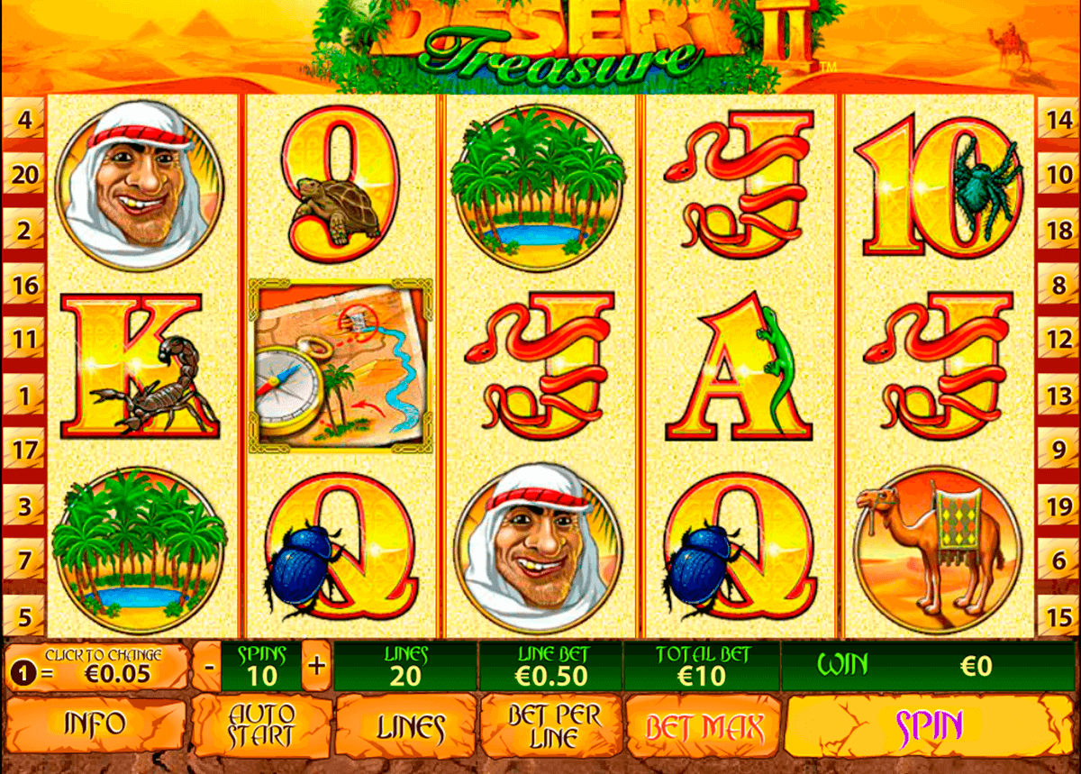 desert treasure ii playtech jogo casino online