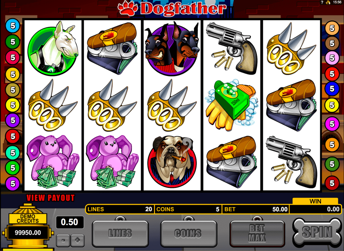 dogfather microgaming jogo casino online
