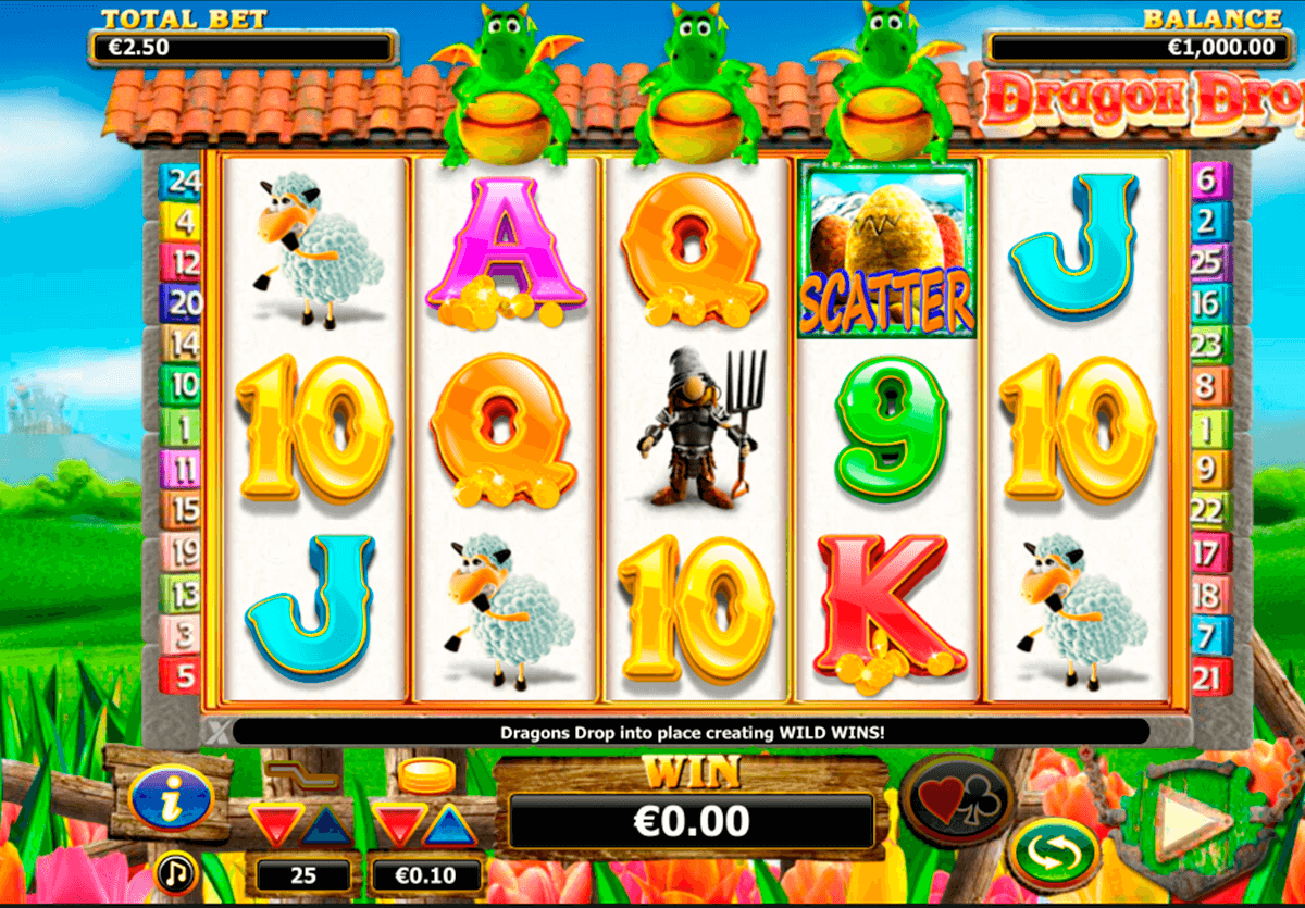 dragon drop nextgen gaming jogo casino online