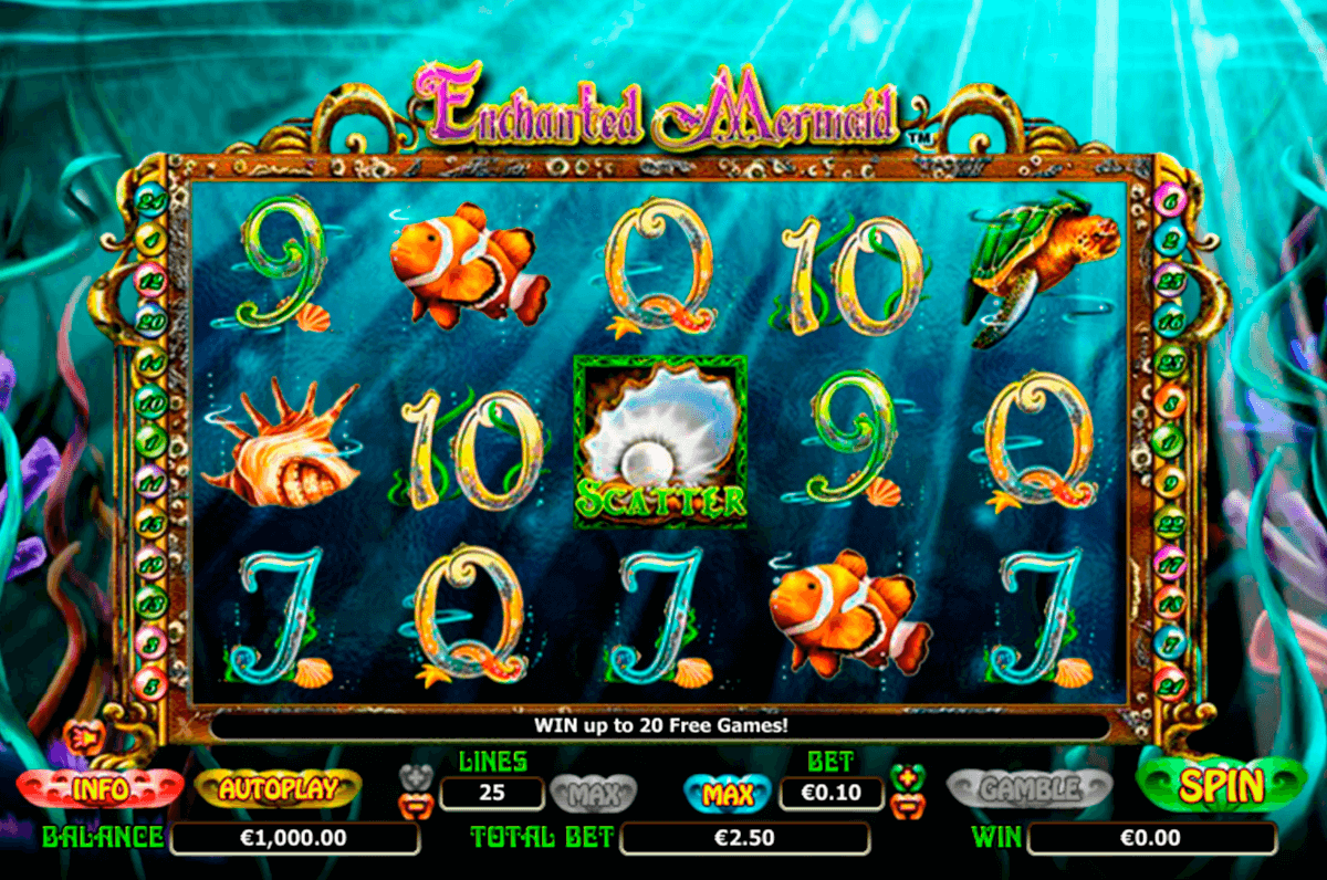 enchanted mermaid nextgen gaming jogo casino online