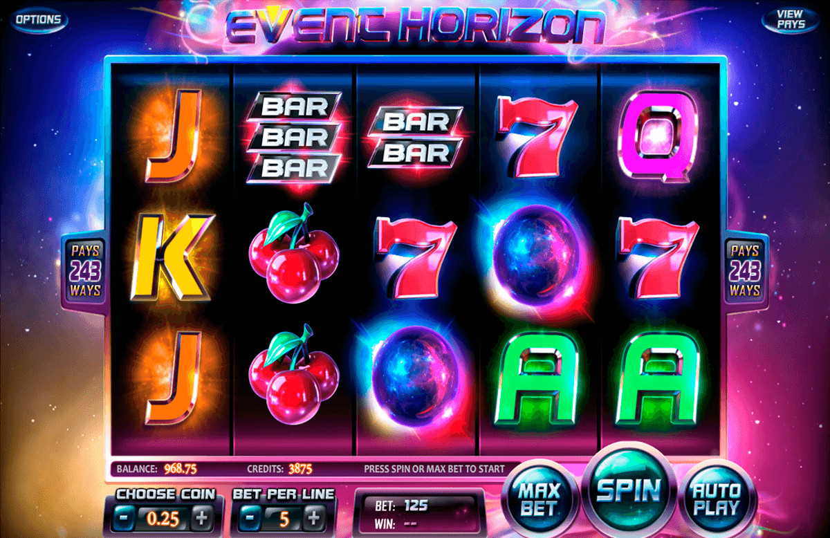 event horizon betsoft jogo casino online