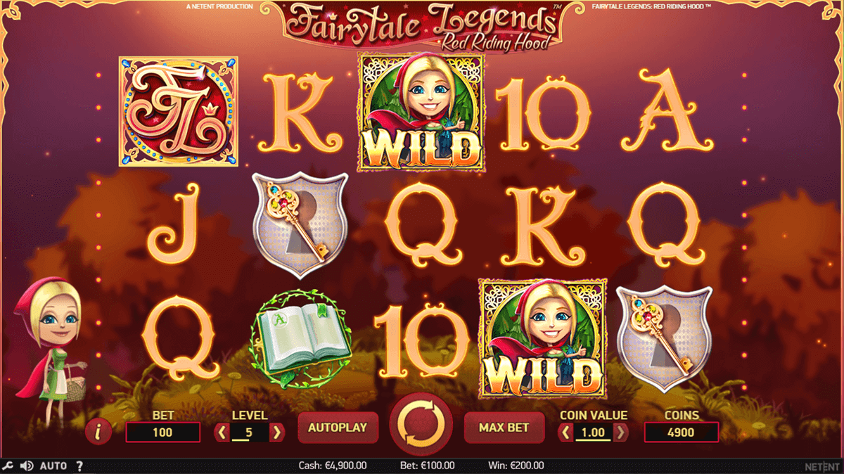 fairytale legends red riding hood netent jogo casino online