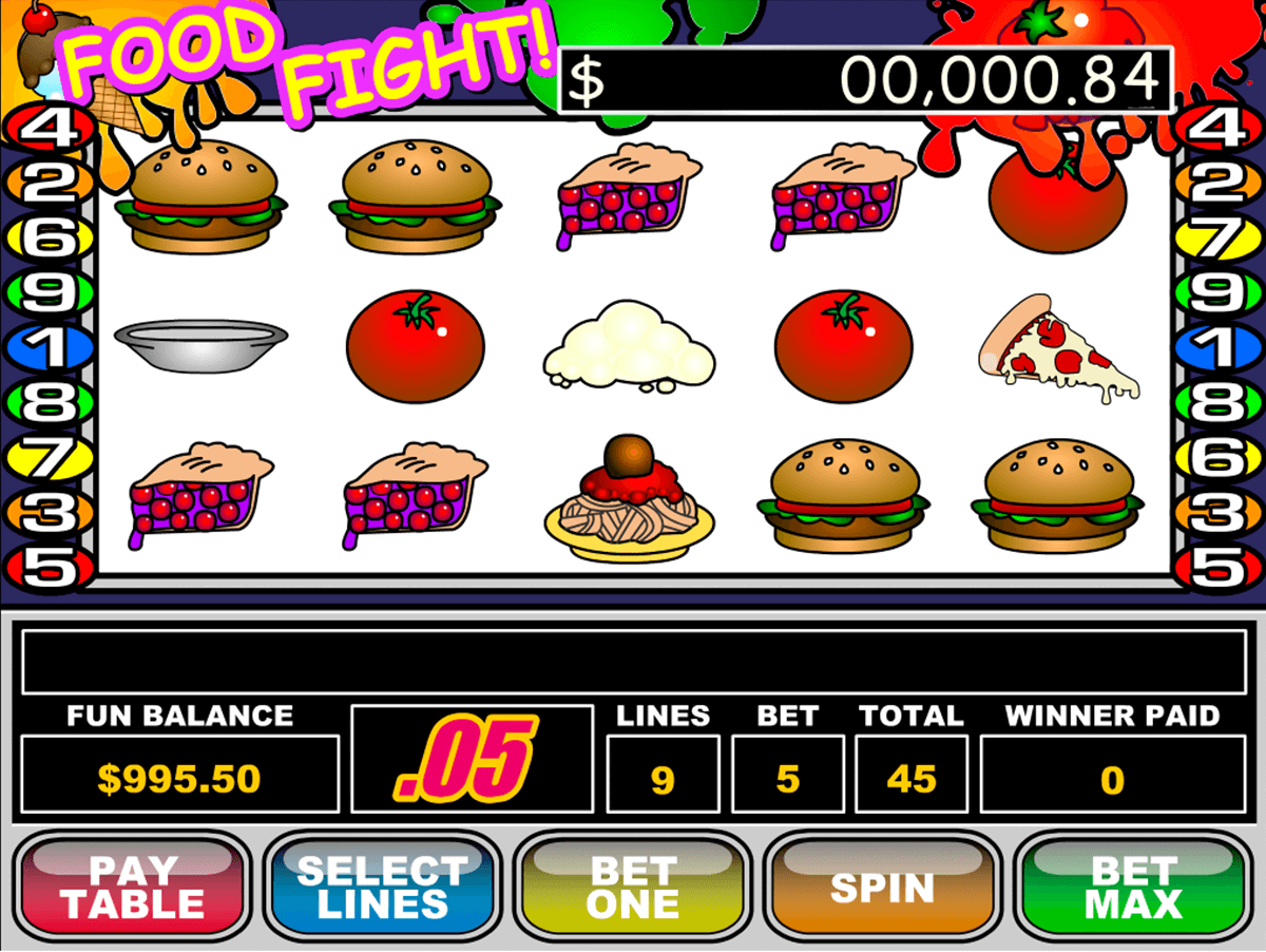 food fight rtg jogo casino online