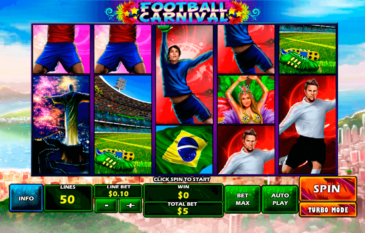 football carnival playtech jogo casino online
