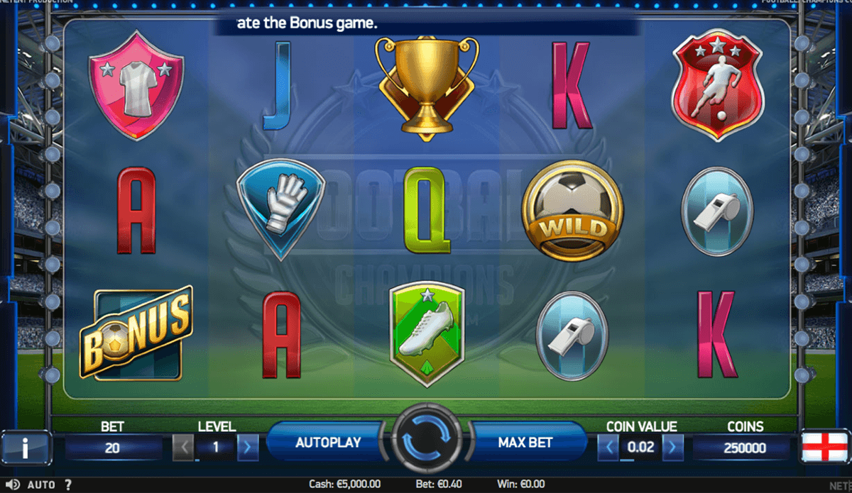 football champions cup netent jogo casino online