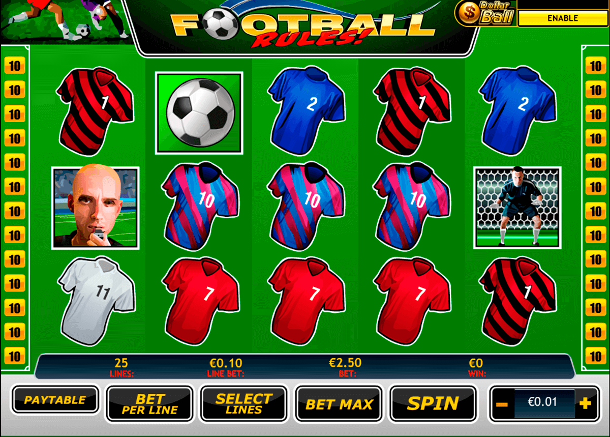 football rules playtech jogo casino online