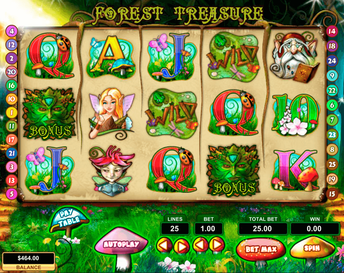 forest treasure pragmatic jogo casino online