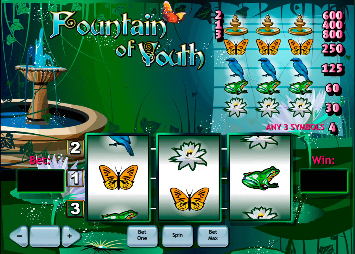 fountain of youth playtech jogo casino online