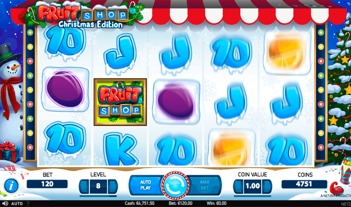 fruit shop christmas edition netent jogo casino online
