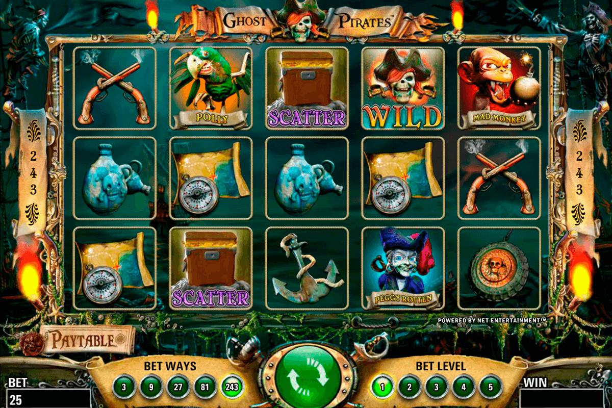 ghost pirates netent jogo casino online