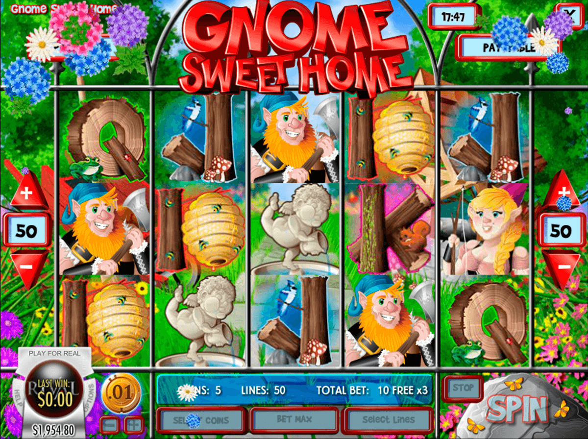 gnome sweet home rival jogo casino online