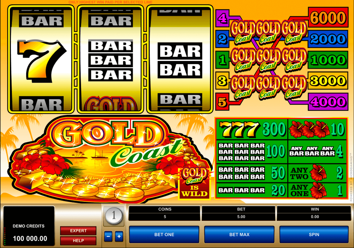 gold coast microgaming jogo casino online