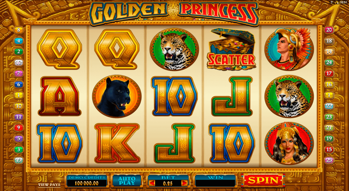 golden princess microgaming jogo casino online