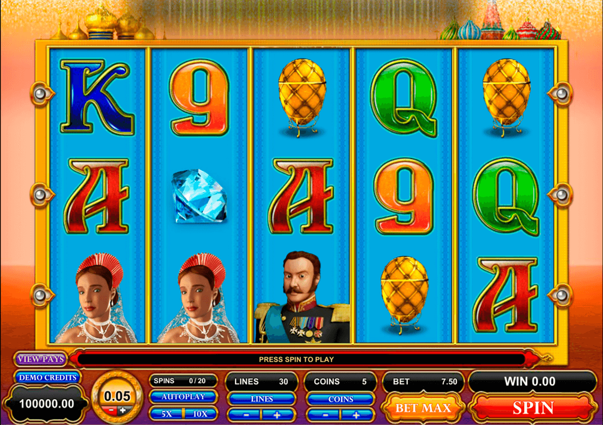 great czar microgaming jogo casino online