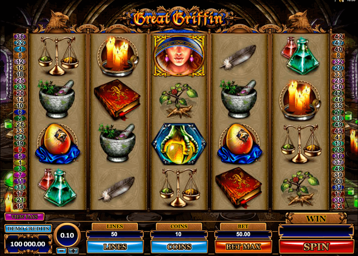 great griffin microgaming jogo casino online