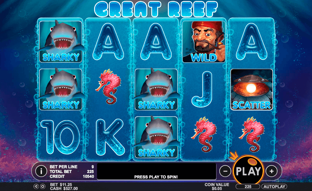 great reef pragmatic jogo casino online