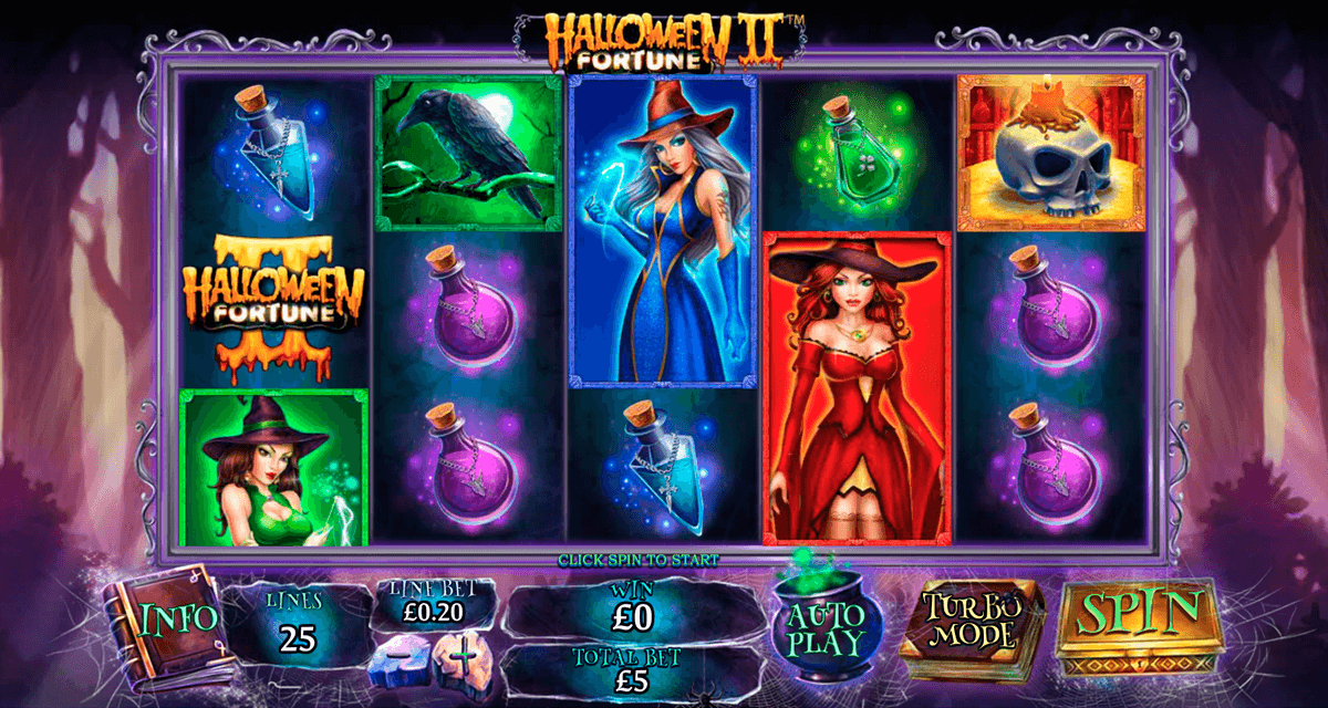 halloween fortune ii playtech jogo casino online