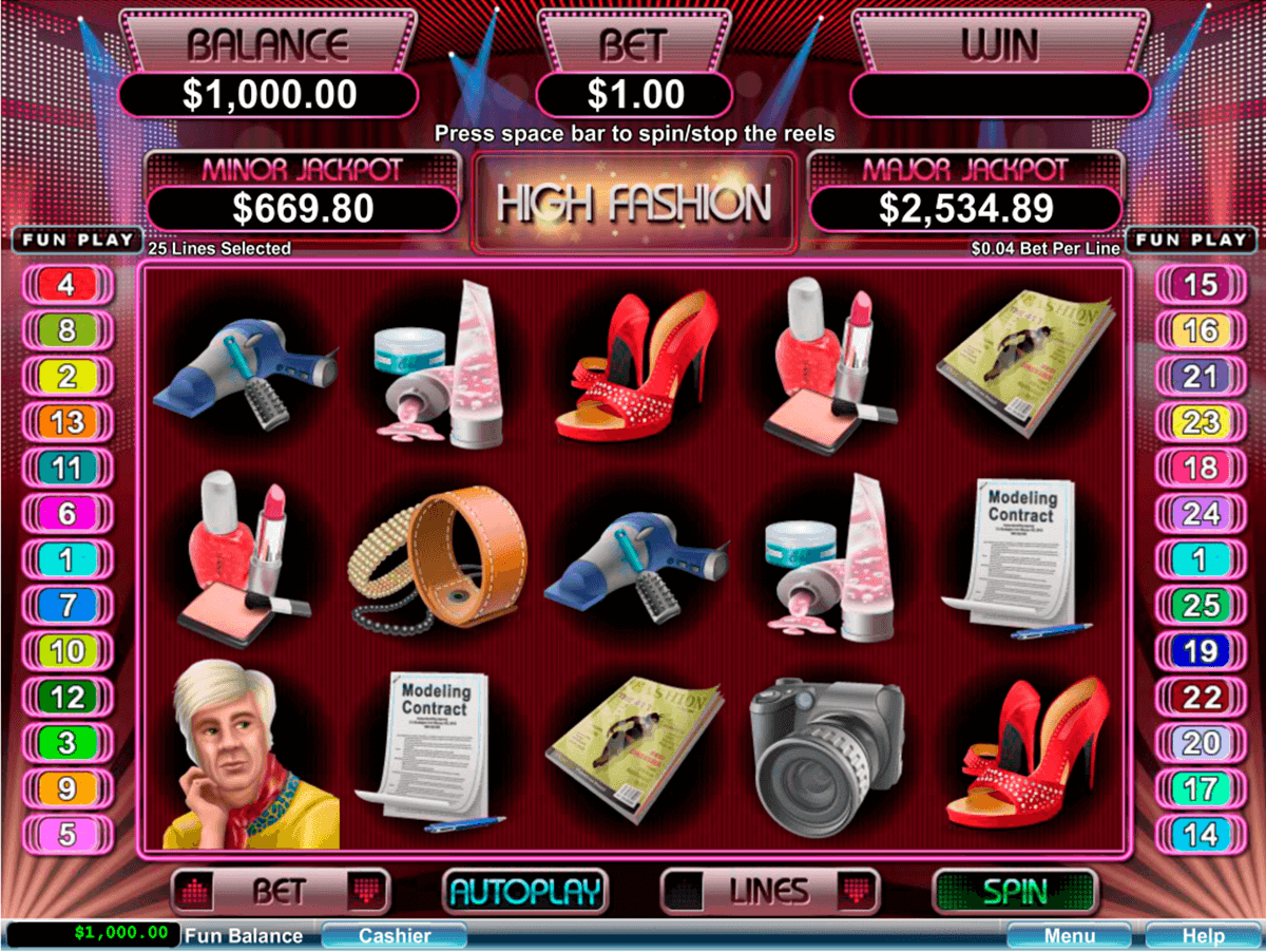 high fashion rtg jogo casino online