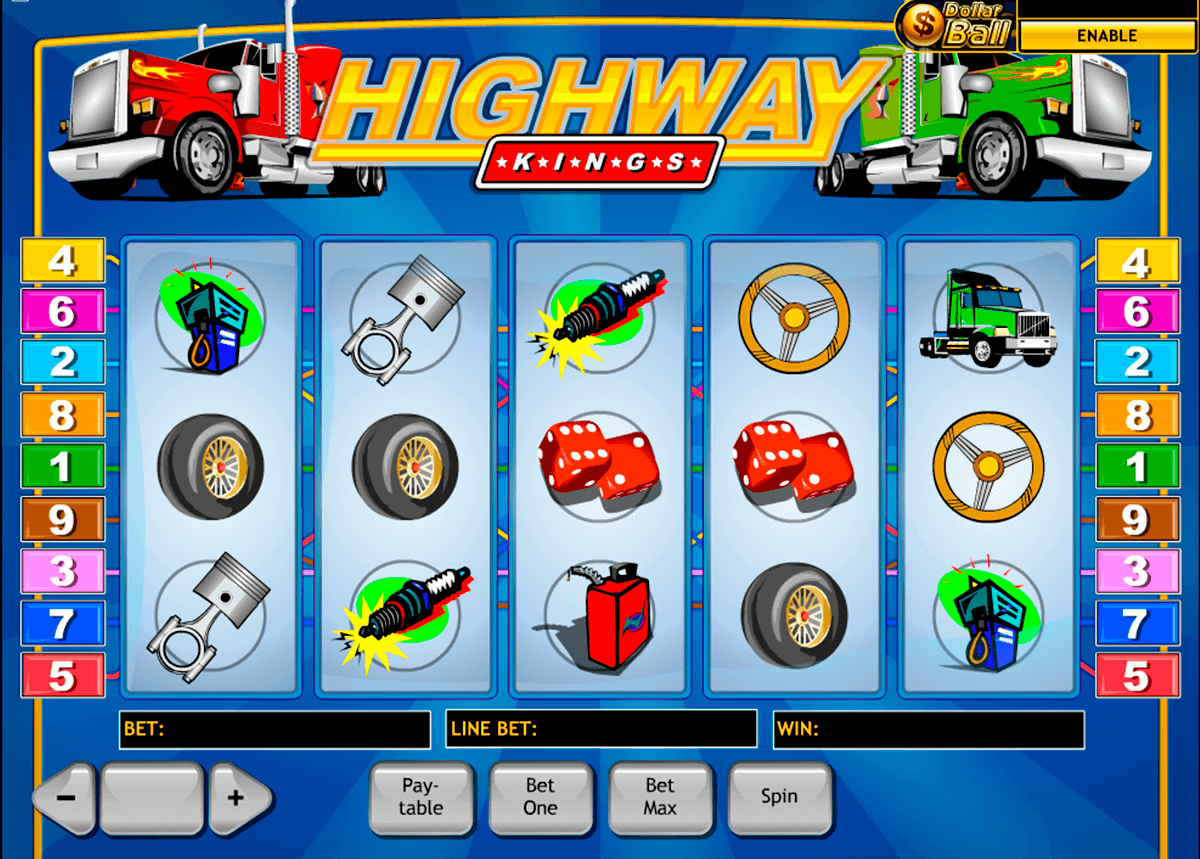 highway kings playtech jogo casino online