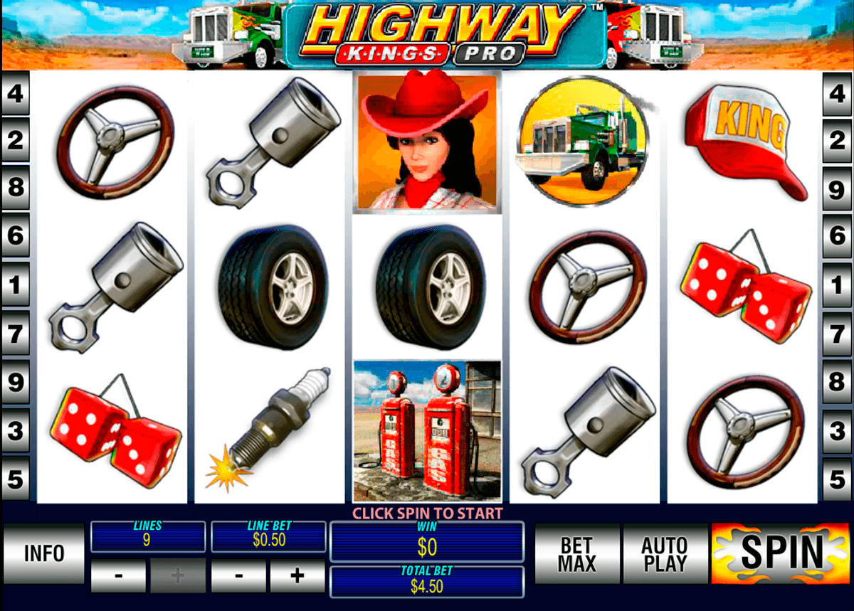 highway kings pro playtech jogo casino online
