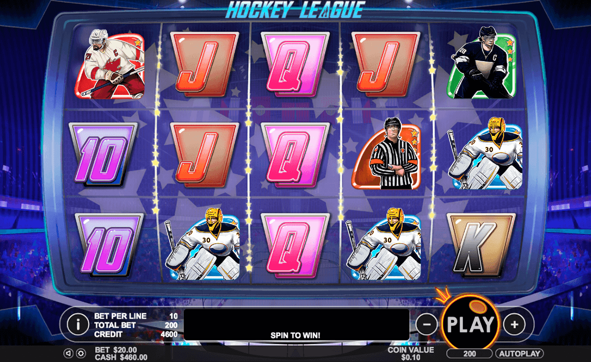 hockey league pragmatic jogo casino online